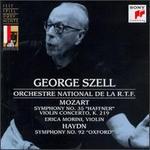 "Mozart: Violin Concerto, K219; Symphony No. 35 ""Haffner""; Haydn: Symphony No. 92 ""Oxford"""