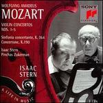 Mozart: Violin concertos Nos. 1-5; Sinfonia concertante, K. 364; Concertone, K. 190