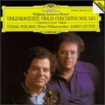 Mozart: Violin Concertos Nos. 3 & 5 - Itzhak Perlman (violin); Vienna Philharmonic Orchestra; James Levine (conductor)