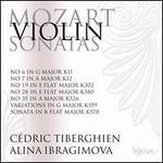 Mozart: Violin Sonatas Nos. 6, 7, 19, 28, 35; Variations in G major; Sonata in B flat major K570