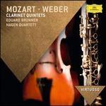 Mozart, Weber: Clarinet Quintets - Eduard Brunner (clarinet); Hagen Quartett