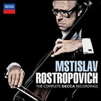 Mstislav Rostropovich: The Complete Decca Recordings - Benjamin Britten (piano); Mstislav Rostropovich (cello); Sviatoslav Richter (piano); English Chamber Orchestra;...