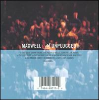 MTV Unplugged - Maxwell