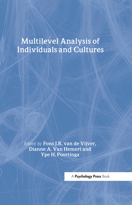 Multilevel Analysis of Individuals and Cultures - Van de Vijver, Fons J R, and Van Hemert, Dianne A, and Poortinga, Ype H