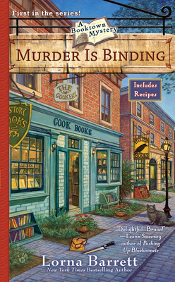 Murder Is Binding - Barrett, Lorna