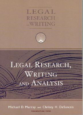 legal writing and analysis murray desanctis hris