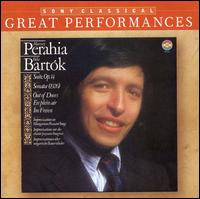 Murray Perahia Performs Béla Bartók - David Corkhill (percussion); Evelyn Glennie (percussion); Georg Solti (piano); Murray Perahia (piano)