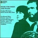 Music for Horn and Piano