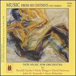 Music from Six Continents (1995 Series): Snyder, Winges, Patterson, Kennedy, Rabushka