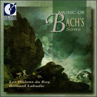 Music of Bach's Sons - Bernard Guay (double bass); Claudine Giguere (viola); Claudine St-Arnauld (violin); Diane Lacelle (oboe);...