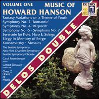 Music of Howard Hanson, Vol. 1 - Carol Rosenberger (piano); Judith Mendenhall (flute); New York Chamber Symphony; Randolph Baunton (drums);...