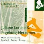 Musik für zwei Klaviere: Burghardt, Raphael, Bresgen