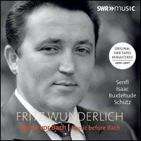 Musik vor Bach (Music before Bach) - Adalbert Nauber (violin); Alfred Gemeinhardt (cello); Anne-Sophie Nübel (viola); Bernd Michaelis (tenor);...