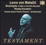 Mussorgsky: A Night on Bare Mountain; Rimsky-Korsakov: Russian Easter Festival Overture; Scheherazade