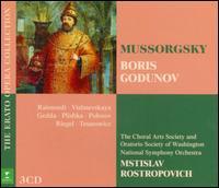 Mussorgsky: Boris Godunov - Catherine Dubosc (soprano); Chevy Chase Elementary School Chorus; Galina Vishnevskaya (soprano); Jacques Trigeau (baritone);...