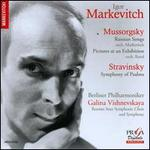 Mussorgsky: Russian Songs; Pictures at an Exhibition; Stravinsky: Symphony of Psalms
