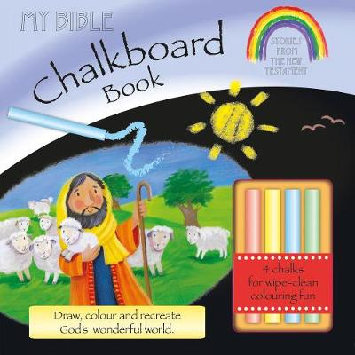 My Bible Chalkboard Book: Stories from the New Testament (Incl. Chalk) - Box, Su