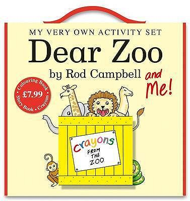 "My Very Own ""Dear Zoo"" Activity Set - Campbell, Rod"