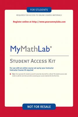 MyMathLab/MyStatLab - Custom Valuepack Access Card - Pearson, and Addison-Wesley
