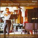 Nadia Reisenberg & Erick Friedman in Performance & Conversation