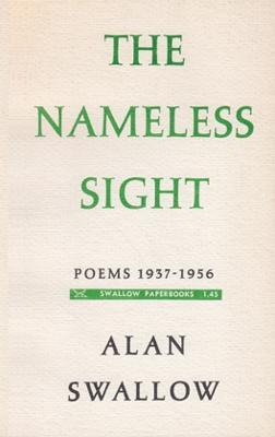 Nameless Sight: 1937-1956 - Swallow, Alan