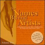 Names Behind the Artists, Vol. 2