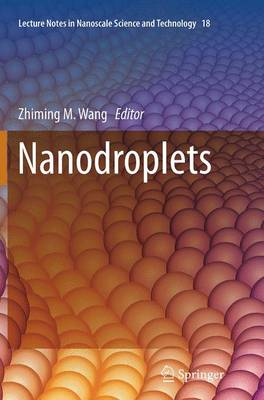 Nanodroplets - Wang, Zhiming M (Editor)