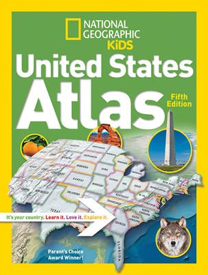 National Geographic Kids United States Atlas - National Geographic Kids