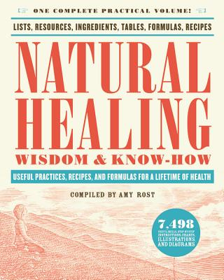 Natural Healing Wisdom & Know How: Useful Practices, Recipes, and Formulas for a Lifetime of Health - Rost, Amy (Compiled by)