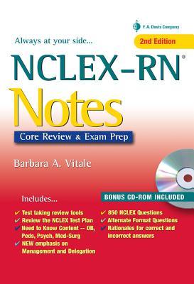 NCLEX-RN Notes: Content Review & Exam Prep - Vitale, Barbara A, RN, Ma