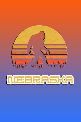 Nebraska: Bigfoot themed journal with names of States in America. - Koorey, Nathan