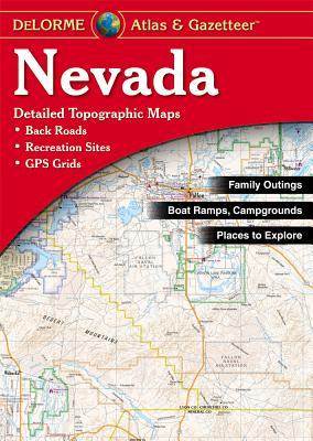 Nevada - Rand McNally, and Delorme Publishing Company, and Delorme Mapping Company
