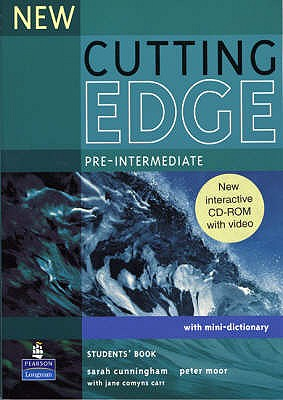 New Cutting Edge Pre-Intermediate Students Book and CD-Rom Pack - Cunningham, Sarah, and Moor, Peter, and Eales, Frances