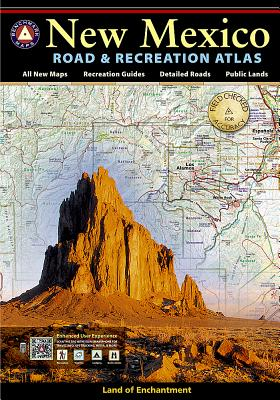 New Mexico Benchmark Road & Recreation Atlas - National Geographic Maps