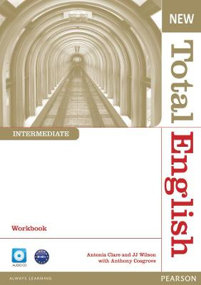 New Total English Intermediate Workbook without Key and Audio CD Pack - Cosgrove, Anthony