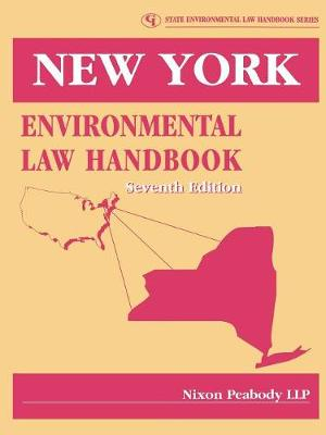 New York Environmental Law Handbook - Nixon, Peabody Llp