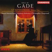 Niels W. Gade: Symphonies, Vol. 1 - Danish Radio Symphony Orchestra; Christopher Hogwood (conductor)