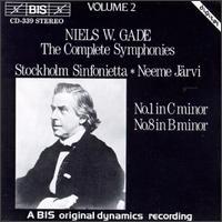 Niels W.Gade: The Complete Symphonies, Vol. 2 - Stockholm Sinfonietta; Neeme J�rvi (conductor)