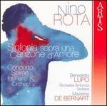 Nino Rota: Sinfonia sopra una Canzone d'Amore; Concerto-Soirée