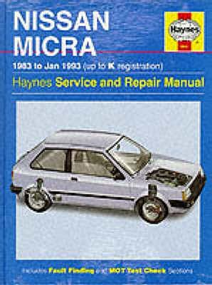 Nissan Micra Service and Repair Manual - Brown, Colin