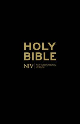 NIV Holy Bible - Anglicised Black Gift and Award - New International Version