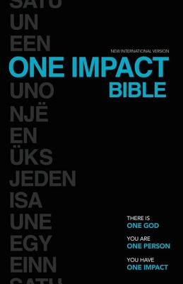 NIV One Impact Bible: One God. One Person. One Impact. - Squires, Terry