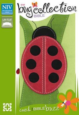 NIV, The Bug Collection Bible: Ladybug, Imitation Leather, Green/Red - Zondervan