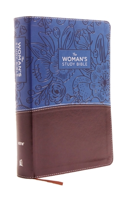 NIV, the Woman's Study Bible, Imitation Leather, Blue/Brown, Full-Color: Receiving God's Truth for Balance, Hope, and Transformation - Patterson, Dorothy Kelley (Editor), and Kelley, Rhonda (Editor), and Thomas Nelson