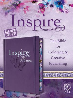 NLT Inspire PRAISE Bible, Purple - Tyndale