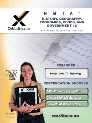 Nmta History, Geography, Economics, Civics, and Government 16 Teacher Certification Test Prep Study Guide - Wynne, Sharon A