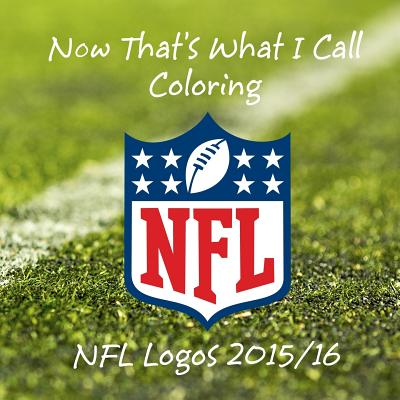Now That's What I Call Coloring - NFL Logos 2015/16: All 32 NFL Team Logos to Color - Great Childrens Birthday Gift / Present. - Jackson, MR Andy