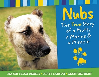 Nubs: The True Story of a Mutt, a Marine & a Miracle - Dennis, Brian, and Larson, Kirby, and Nethery, Mary (Illustrator)