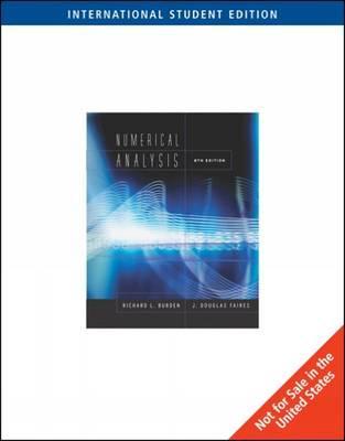 Numerical Analysis - Burden, Richard L