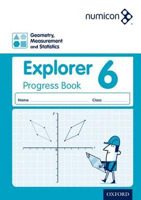 Numicon: Geometry, Measurement and Statistics 6 Explorer Progress Book - Jeffrey, Andrew